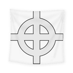 Celtic Cross  Square Tapestry (small) by abbeyz71