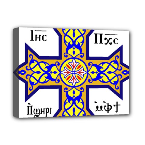 Coptic Cross Deluxe Canvas 16  X 12   by abbeyz71