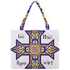 Coptic Cross Mini Tote Bag by abbeyz71