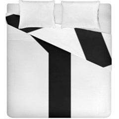 Forked Cross Duvet Cover Double Side (king Size) by abbeyz71