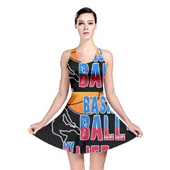 Basketball is my life Reversible Skater Dress