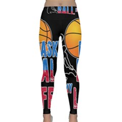 Basketball is my life Classic Yoga Leggings