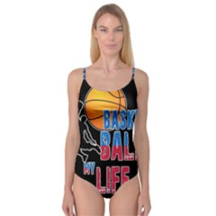 Basketball is my life Camisole Leotard