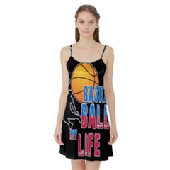 Basketball is my life Satin Night Slip