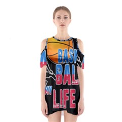 Basketball is my life Shoulder Cutout One Piece