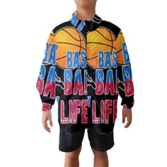 Basketball is my life Wind Breaker (Kids)