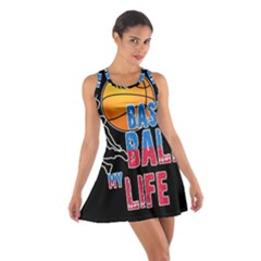 Basketball is my life Cotton Racerback Dress