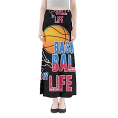 Basketball is my life Maxi Skirts
