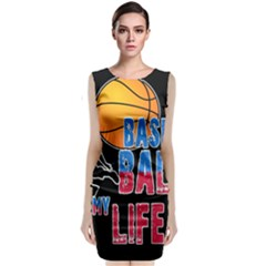 Basketball is my life Sleeveless Velvet Midi Dress
