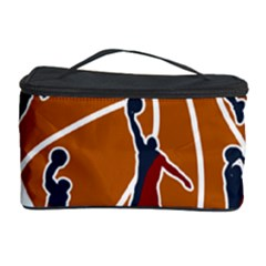 Basketball Never Stops Cosmetic Storage Case