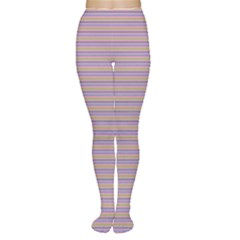 Decorative Lines Pattern Women s Tights