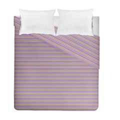 Decorative Lines Pattern Duvet Cover Double Side (full/ Double Size)