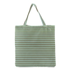 Decorative Lines Pattern Grocery Tote Bag