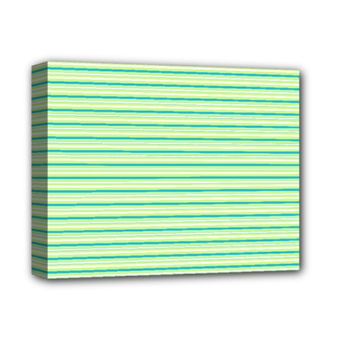 Decorative Lines Pattern Deluxe Canvas 14  X 11
