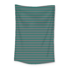 Decorative Lines Pattern Small Tapestry
