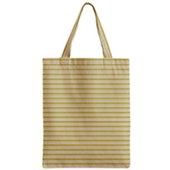 Decorative Lines Pattern Zipper Classic Tote Bag by Valentinaart