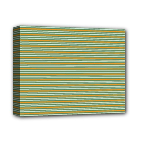 Decorative Line Pattern Deluxe Canvas 14  X 11  by Valentinaart