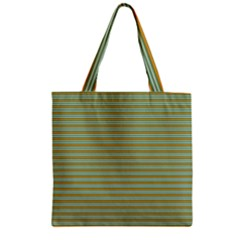 Decorative Line Pattern Zipper Grocery Tote Bag by Valentinaart