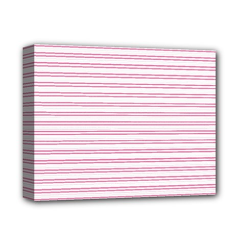 Decorative Line Pattern Deluxe Canvas 14  X 11