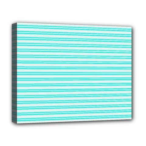 Decorative Line Pattern Deluxe Canvas 20  X 16   by Valentinaart