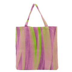 Artistic Pattern Grocery Tote Bag