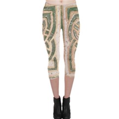 Ab Celtic Swirl Capri Leggings  by DeneWestUK