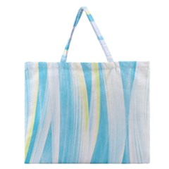 Artistic Pattern Zipper Large Tote Bag by Valentinaart