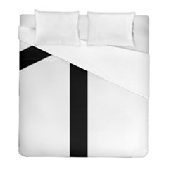 Grapevine Cross Duvet Cover (full/ Double Size) by abbeyz71