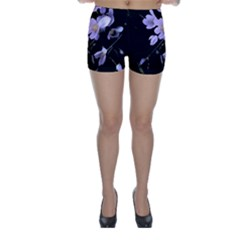 Autumn Crocus Skinny Shorts