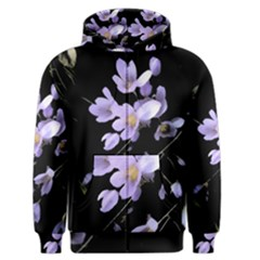 Autumn Crocus Men s Zipper Hoodie