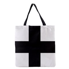 Greek Cross Grocery Tote Bag by abbeyz71