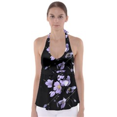 Autumn Crocus Babydoll Tankini Top
