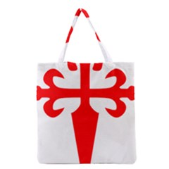 Cross Of Saint James  Grocery Tote Bag by abbeyz71