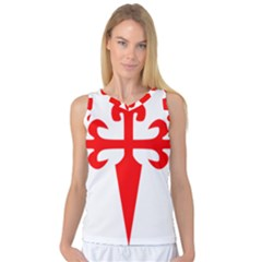 Cross Of Saint James Women s Basketball Tank Top by abbeyz71