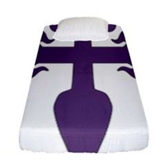 Cross Of Saint James Fitted Sheet (single Size) by abbeyz71