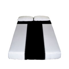 Latin Cross  Fitted Sheet (full/ Double Size) by abbeyz71