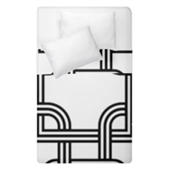 Macedonian Cross Duvet Cover Double Side (single Size)