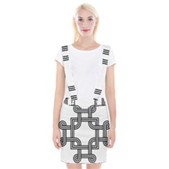Macedonian Cross Braces Suspender Skirt