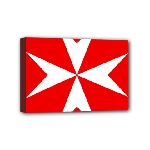 Cross Of The Order Of St  John  Mini Canvas 6  X 4  by abbeyz71