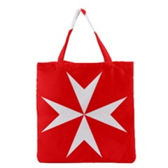 Cross Of The Order Of St  John  Grocery Tote Bag by abbeyz71