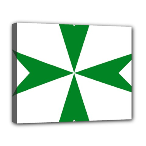 Cross Of Saint Lazarus  Deluxe Canvas 20  X 16   by abbeyz71