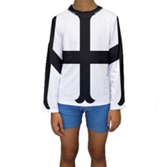 Cross Molin Kids  Long Sleeve Swimwear by abbeyz71