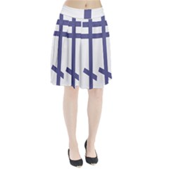 Orthodox Cross  Pleated Skirt