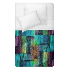 Abstract Square Wall Duvet Cover (single Size) by Costasonlineshop