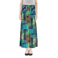 Abstract Square Wall Maxi Skirts by Costasonlineshop