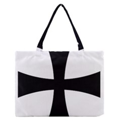Cross Patty Medium Zipper Tote Bag by abbeyz71