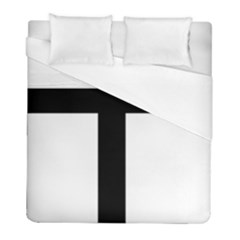 Patriarchal Cross Duvet Cover (full/ Double Size) by abbeyz71