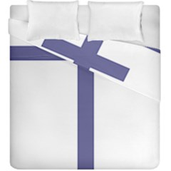 Patriarchal Cross Duvet Cover Double Side (king Size) by abbeyz71