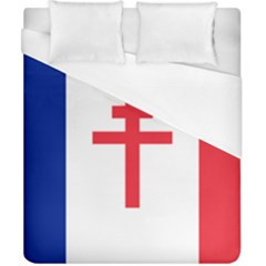 Flag Of Free France (1940 1944) Duvet Cover (california King Size) by abbeyz71