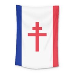 Flag Of Free France (1940 1944) Small Tapestry by abbeyz71